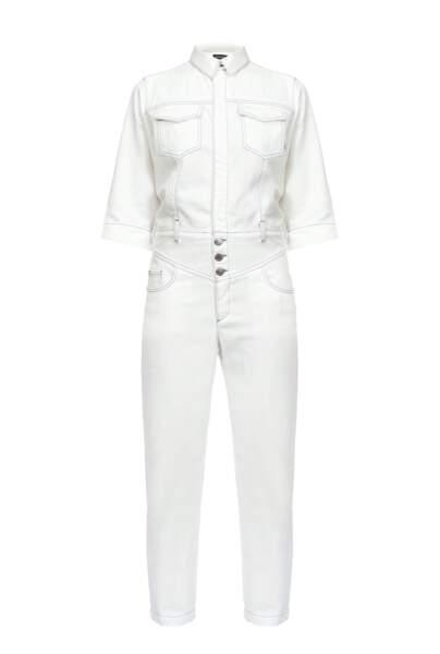 Combinaison workwear en coton,  340€, Pinko