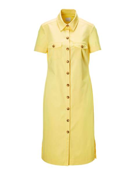 Robe-chemise, 209€, Madeleine
