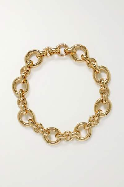 Collier en plaqué or, 220 €, Laura Lombardi
