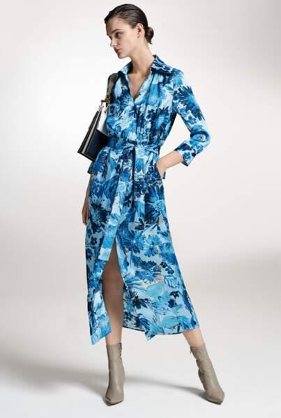 Robe imprimée, 499€, BOSS