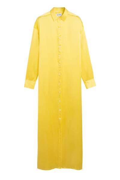 Robe-chemise en satin, 850€, Alter