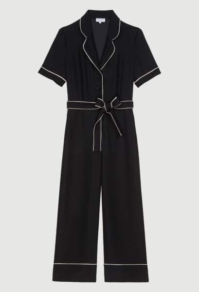 Combinaison noire, 265€, Claudie Pierlot