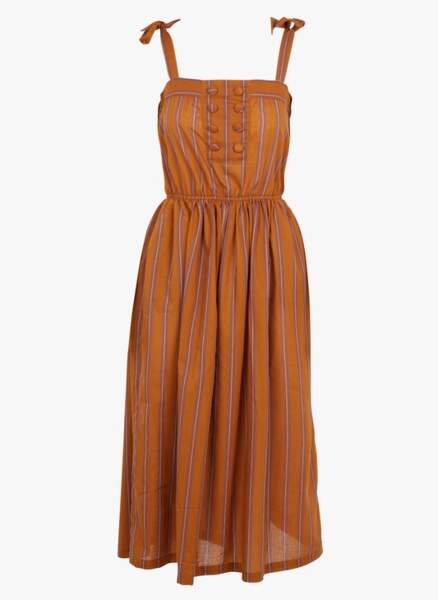 Robe à rayures, 95€, Day Off by Place des Tendances