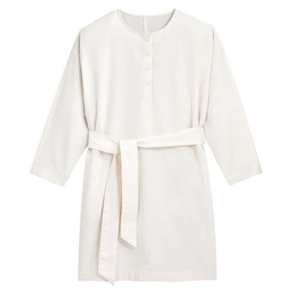 Robe ceinturée, 39,99€, La Redoute