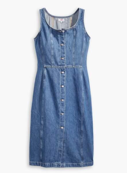 Robe en jean, 89€, Levi's
