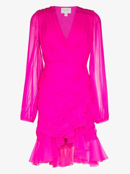 Robe à volants, 2407€, Giambattista Valli sur Brownwsfashion.com