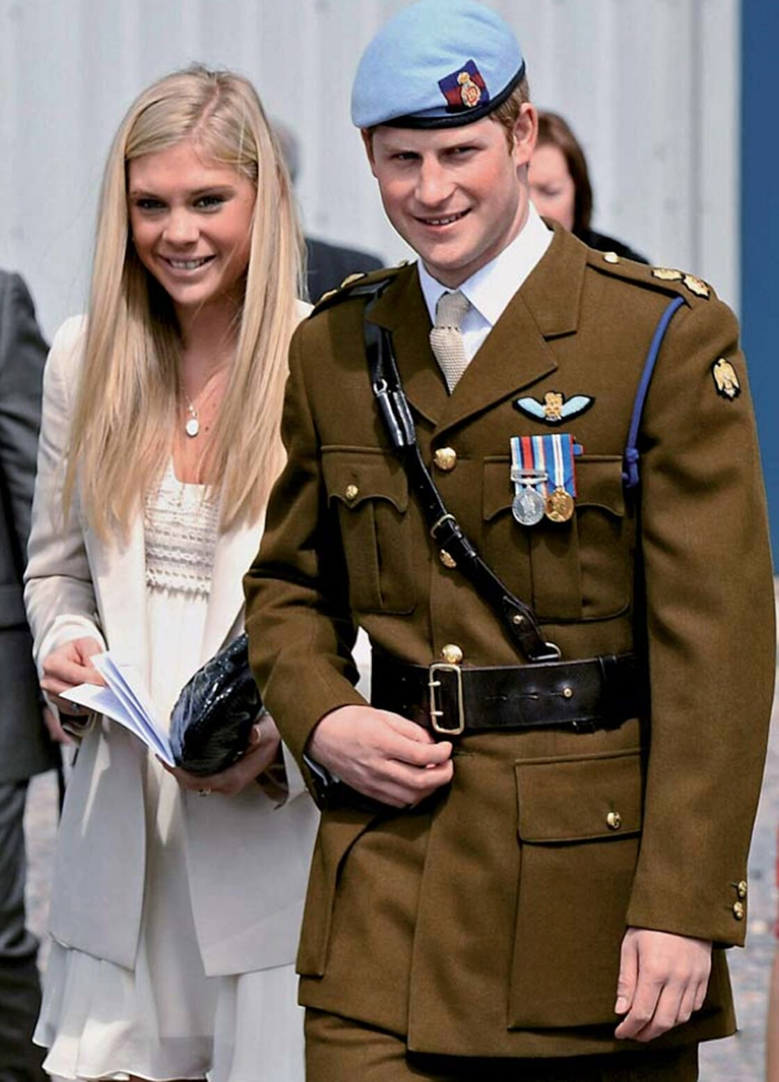 Le prince Harry et Chelsy Davy, en 2010, quelques mois avant leur rupture définitive.