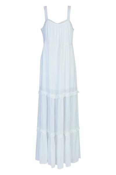 Robe longue, 16,95€, Tissaïa de E.Leclerc