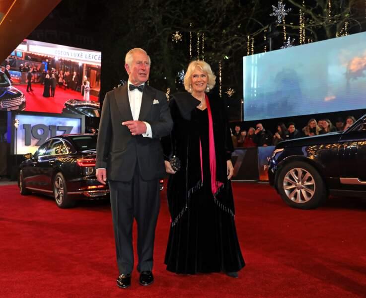 Charles et Camilla à Londres, le 4 décembre 2019