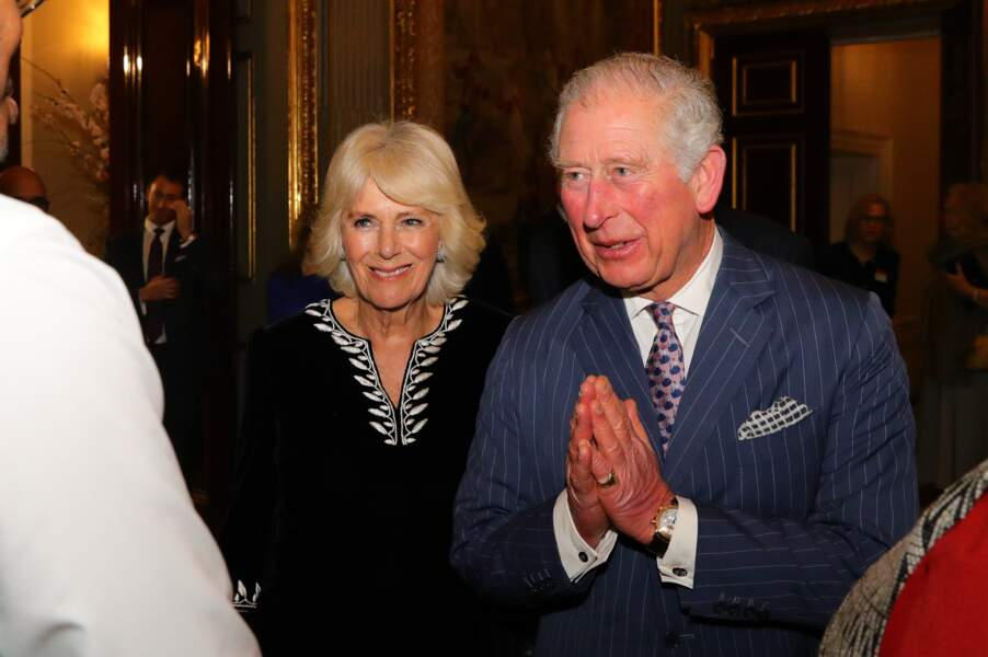Le prince Charles et Camilla à Londres, le 9 mars 2020