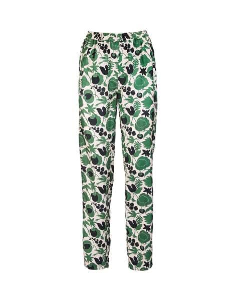 Pantalon de pyjama en soie, 480 € DoubleJ.