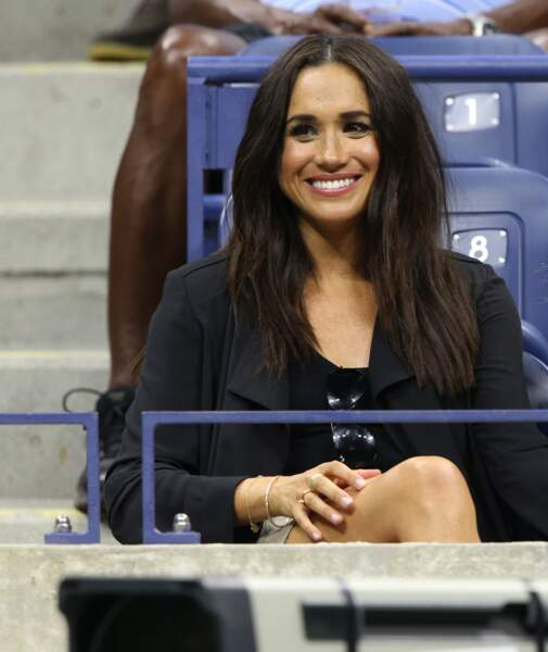 Meghan Markle lors de l'US Open 2016 à New York