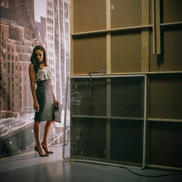 """Meghan Markle sur le plateau de la série """"Suits"""""""
