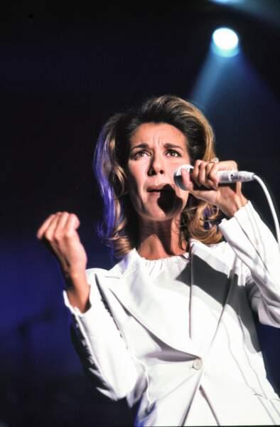 Céline Dion : en concert à Bercy en 1996