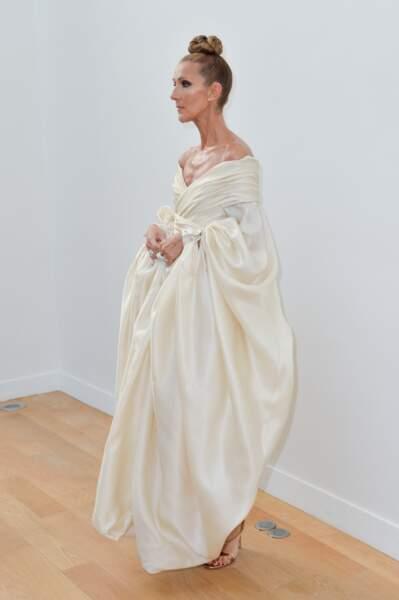 Céline Dion : sublime au défilé Alexandre Vauthier en juillet 2019 à Paris
