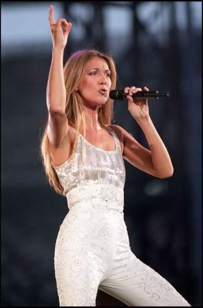 Céline Dion : en concert au Stade de France en 1999
