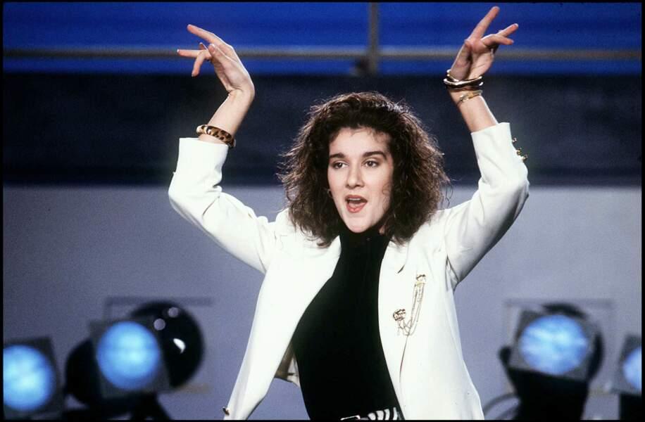 Céline Dion : à ses débuts en 1987