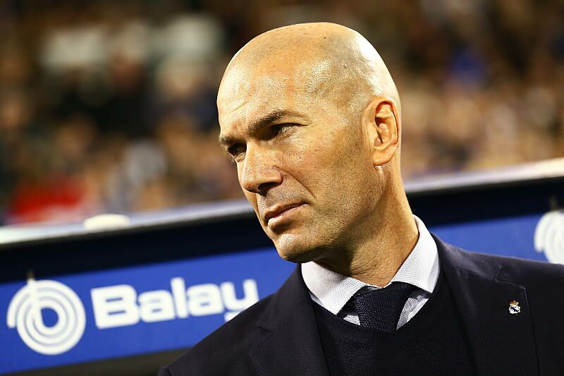 Zinedine Zidane le 30 janvier 2020