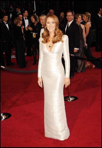 Céline Dion : divine aux Oscars en 2011