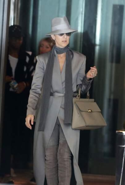 Céline Dion : se rendant à son concert à l'Accorhotels Arena en juillet 2016