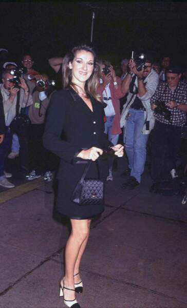 Céline Dion : très chic à New York en 1997