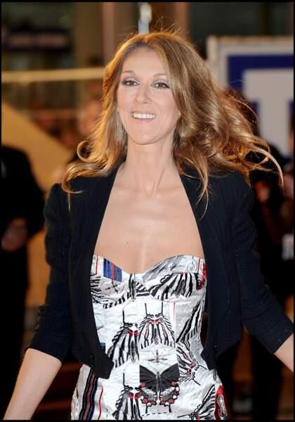Céline Dion : aux NRJ Music Awards en 2008