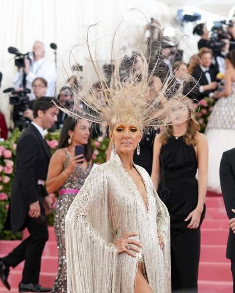 Céline Dion : incroyable au Met Gala, l'événement mode majeur, en mai 2019