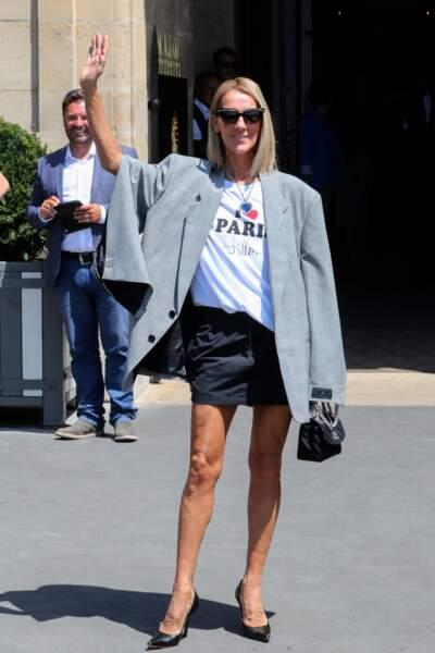Céline Dion : star de la Fashion Week en juillet 2019 à Paris