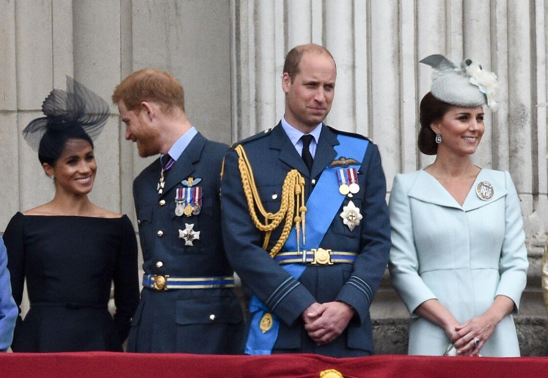 Les (ex) Sussex et les Cambridge, deux couples que tout oppose