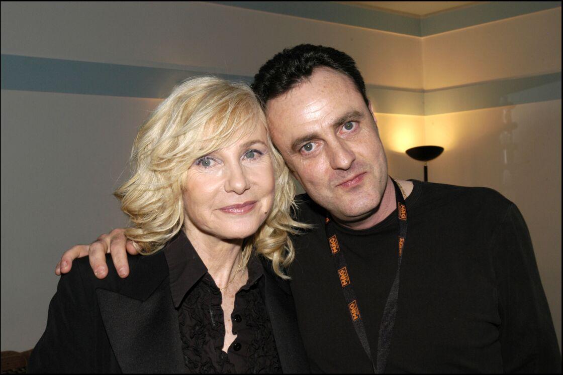 Michèle Torr et Romain à l'Olympia, à Paris, en mars 2005.