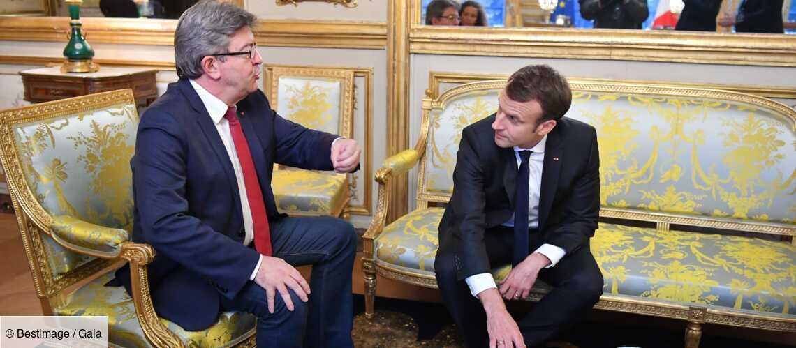 Emmanuel Macron « fatigué » et « au bout de sa vie » : c'est Jean-Luc Mélenchon qui le dit - Gala