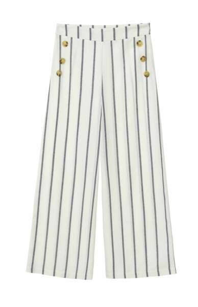 Pantalon en coton, 42,95€, Lili Sidonio.