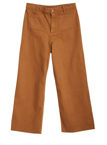 Pantalon en coton, 54,99€, Naf Naf.