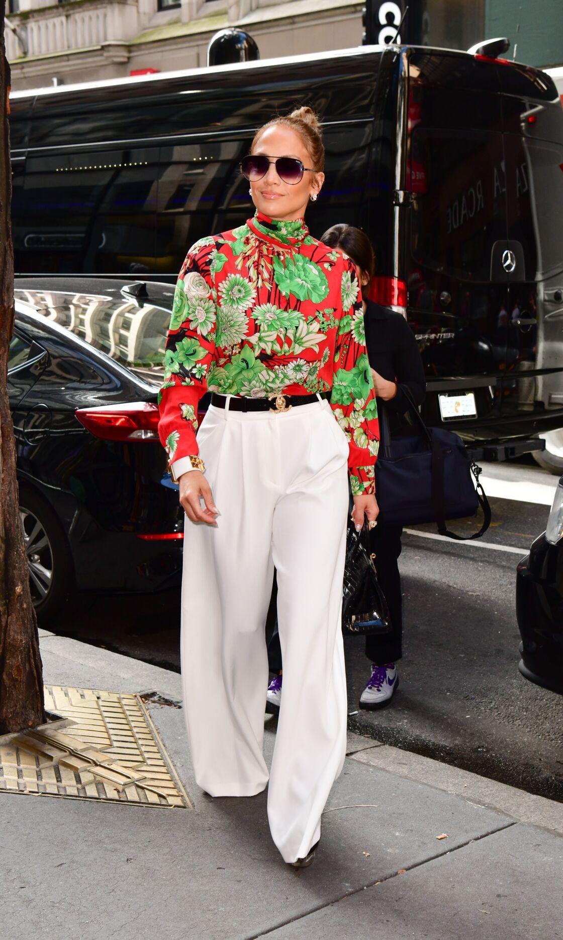 Jennifer Lopez, fashion et excentrique.