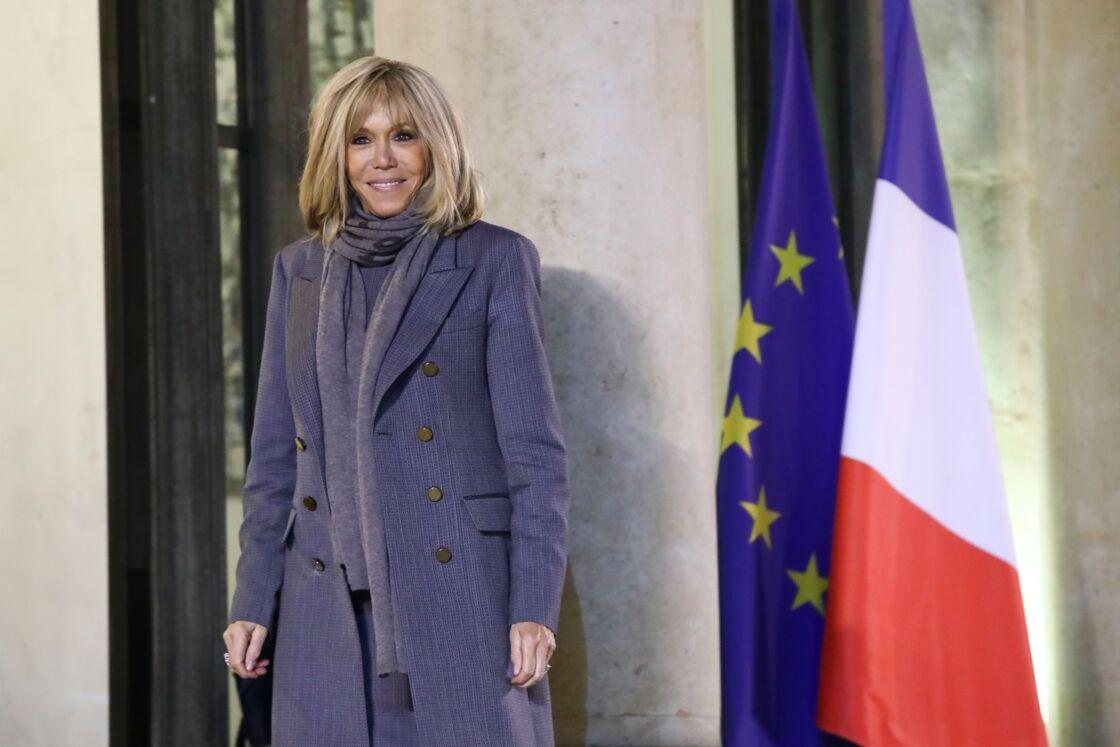 Brigitte Macron, le 30 décembre 2019.