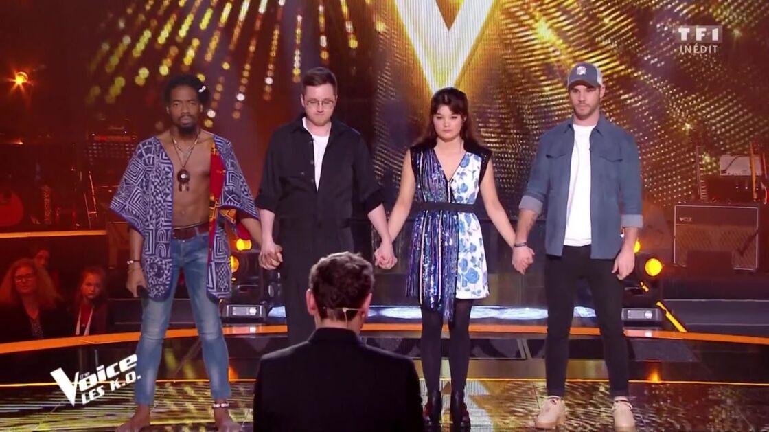 Les talents de Marc Lavoine dans The Voice, le 4 avril 2020.