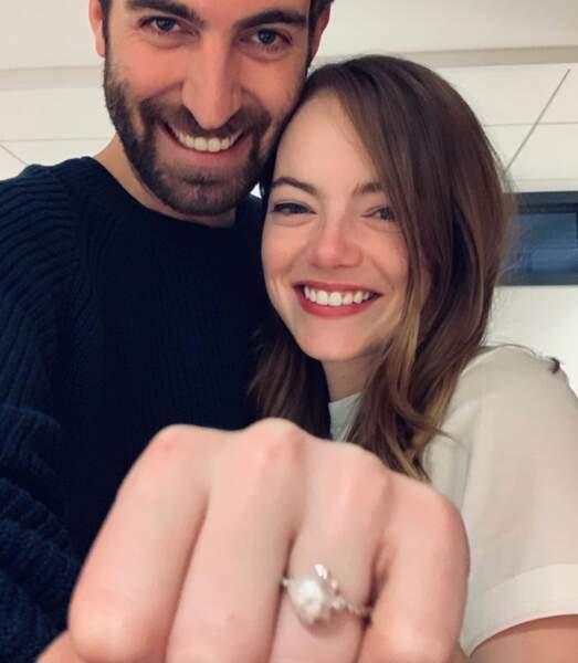En couple depuis 2017, l'actrice Emma Stone et le réalisateur Dave McCary auraient dû célébrer leur union au début du mois de mars.