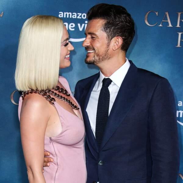 Enceinte de son premier enfant, Katy Perry avait tout prévu pour son mariage avec Orlando Bloom.