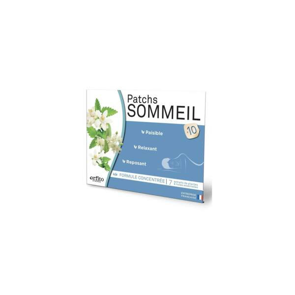 Patchs Sommeil, Orfito, 5,99€, sur onatera.com