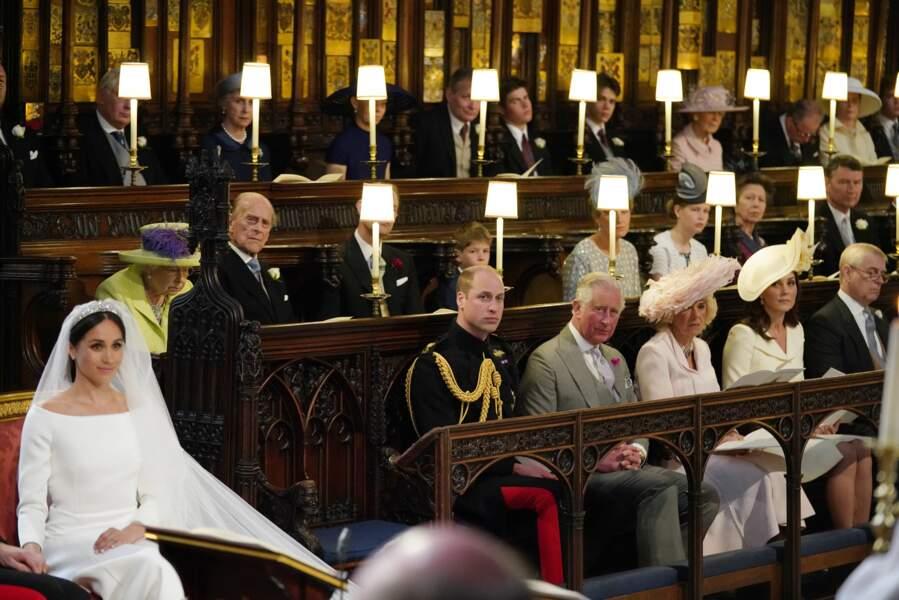 Le prince Philip au mariage du prince Harry et de Meghan Markle, en 2018