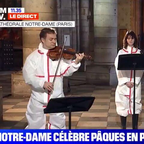 Concert à Notre-Dame: Renaud Capuçon, le mari de Laurence Ferrari, très protégé