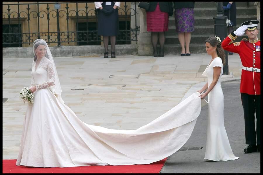 Kate Middleton n'était pas la seule à arborer un look qui parfait. Pippa n'a laissé personne indifférent