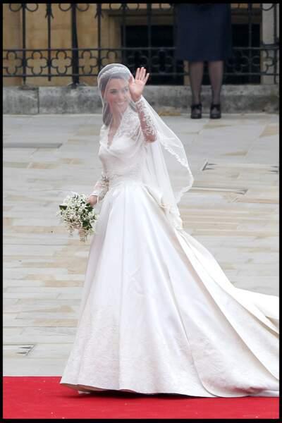 La robe de Kate Middleton, signée Sarah Burton, avait fait rêver le monder entier.
