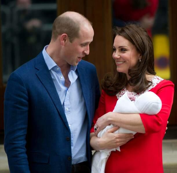 Un nouveau moment d'émotion, pour l'arrivée de ce troisième royal baby Cambridge.