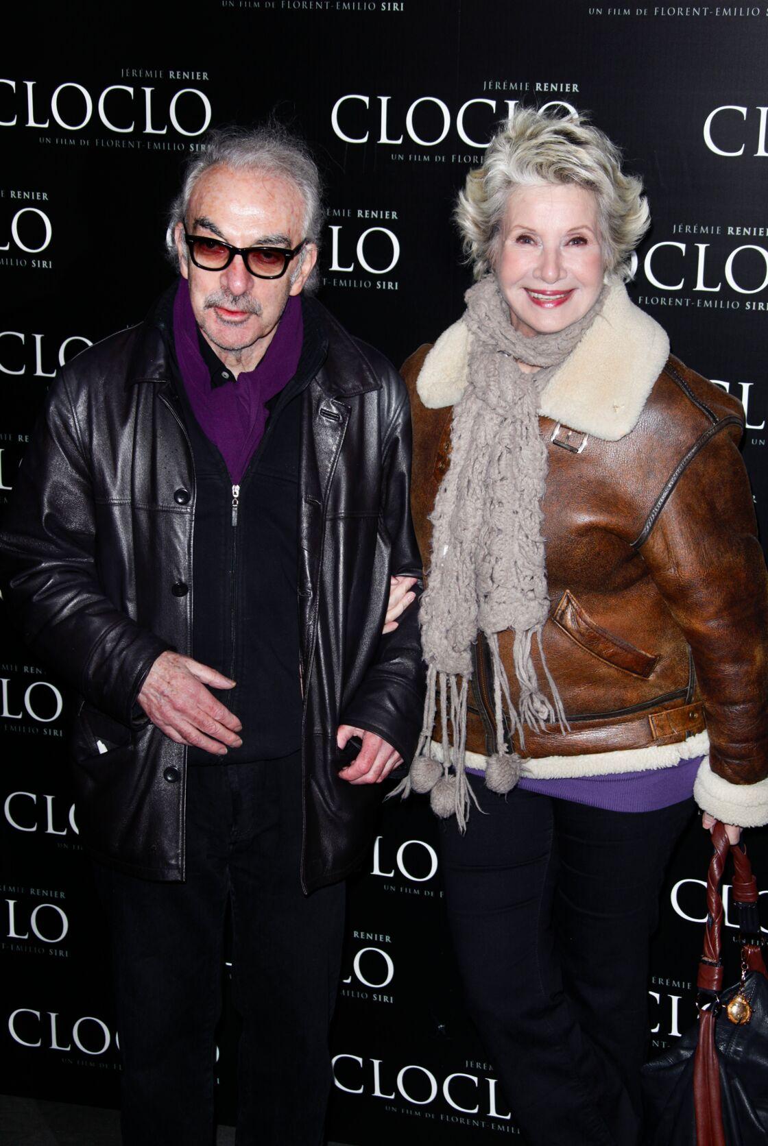 Danièle Gilbert et Patrick Scemama, à Paris, en 2011.