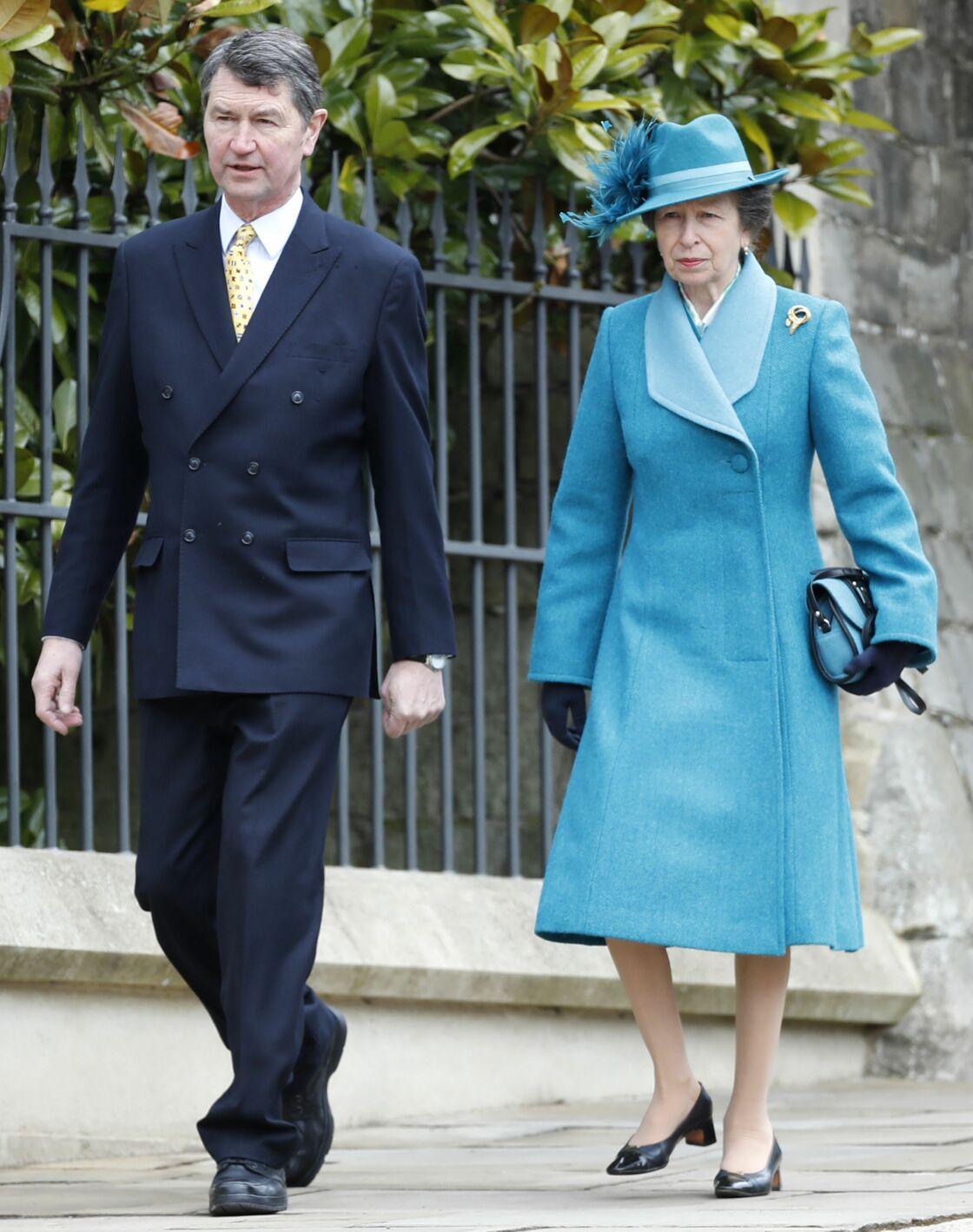 Timothy Laurence et la princesse, à Londres, en 2018.