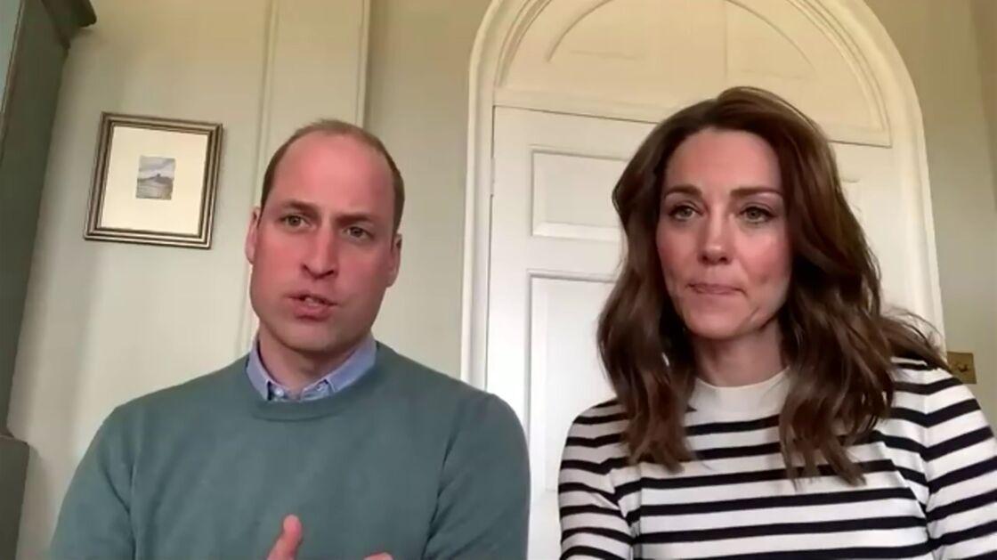 William et Kate confinés à Anmer Hall, en avril 2020.