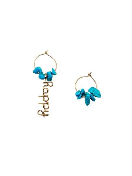 Boucles d'oreilles, 170 €, Atelier Paulin x Shaker Jewels.