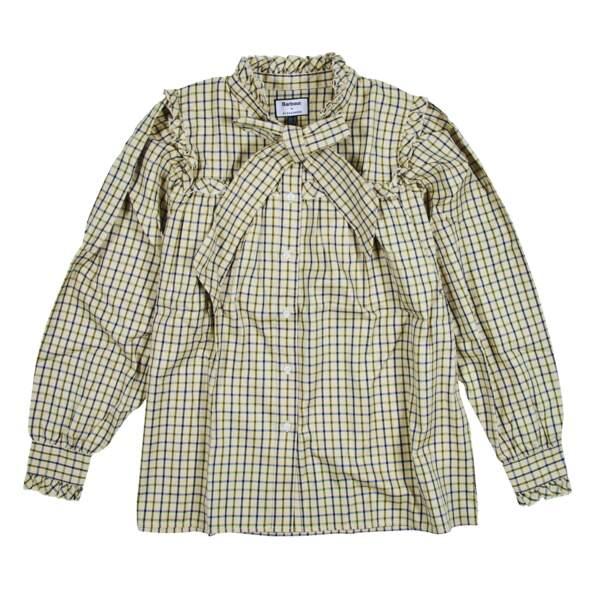 Chemise à lavallière, 149€, Barbour X Alexa Chung