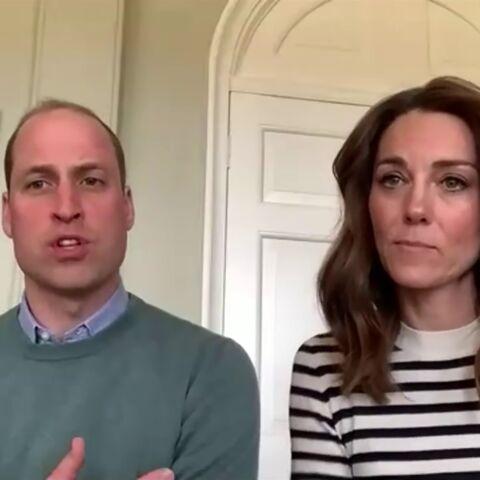 Kate Middleton et William, confinés à Anmer Hall, donnent de leurs nouvelles en visioconférence